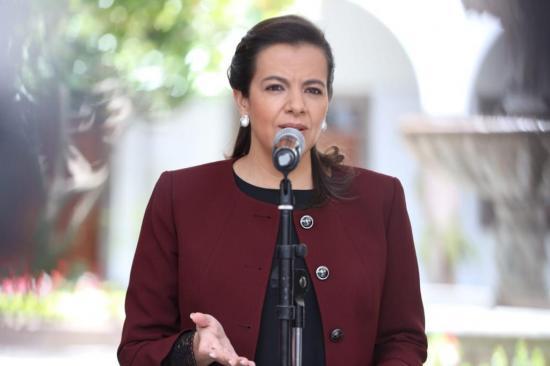 Víctimas de paro nacional de octubre de 2019 testificaron contra la ministra Romo