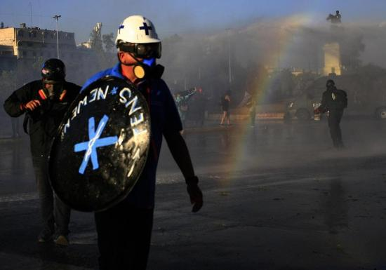 Al menos 20 detenidos en nuevas protestas contra la violencia policial en Chile