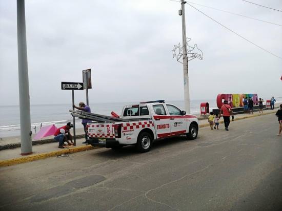 El Malecón de la parroquia Crucita vuelve a ser doble vía