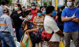 Ecuador suma 350 nuevos casos positivos de covid-19 y acumula un total de 171.783 contagios