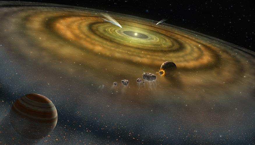 El Sistema Solar se formó en menos de 200.000 años
