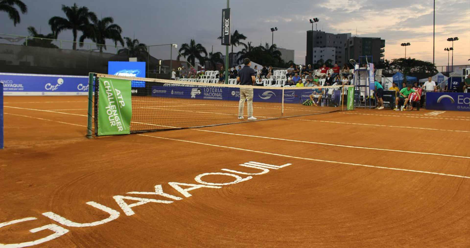 Tenistas de doce países participarán en Challenger de Guayaquil