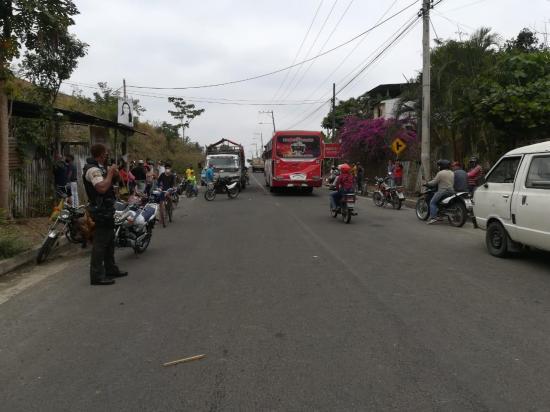 Un fallecido tras accidente de tránsito en la vía Calceta-Quiroga
