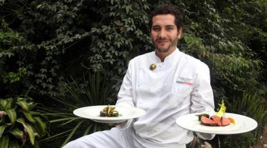 Rodrigo Pacheco, el chef ecuatoriano que engalana a la naturaleza