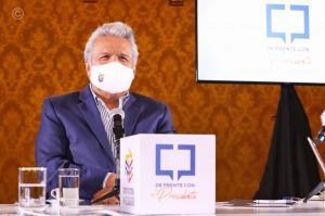 Lenín Moreno anuncia que la vacuna del Covid-19 estaría disponible en Ecuador desde enero del 2021