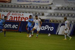 EN JUEGO: Macará 1 y Liga de Portoviejo 0