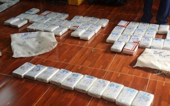 Desconocidos abandonan en Nicaragua 5,5 millones de dólares en cocaína