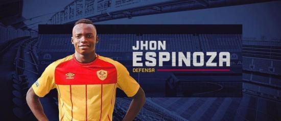 El ecuatoriano Jhon Jairo Espinoza es el  nuevo jugador del Chicago Fire FC