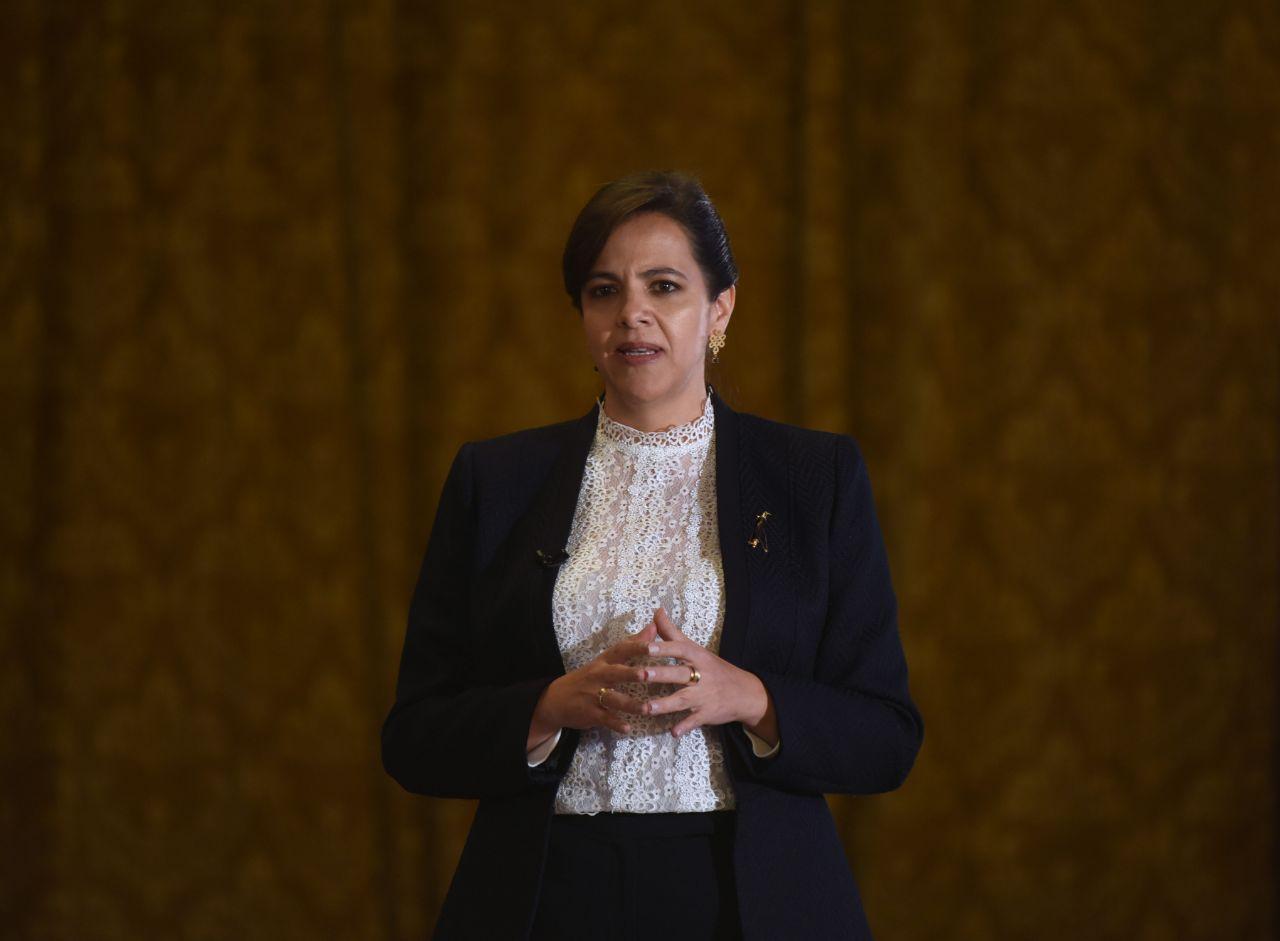 María Paula Romo es censurada y destituida del cargo de ministra de Gobierno
