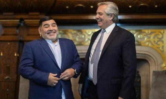 Presidente de Argentina decreta 3 días de luto nacional por muerte de Maradona