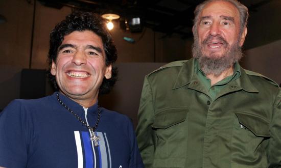 Un 25 de noviembre, como con Fidel, el mundo llora a Maradona
