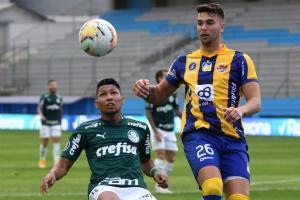 Delfín cae 1-3 ante Palmeiras en el estadio Jocay