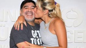 Rocío Oliva, exnovia de Maradona, dice que rememora ''los recuerdos lindos'' con él