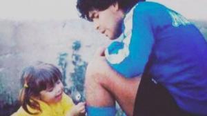 Los hijos de Maradona lo despiden con emoción a través de las redes sociales
