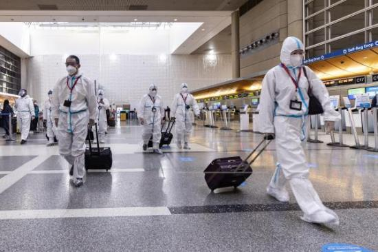 Más de 500 hospitalizados por coronavirus suma California en un día