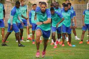 Delfín ya está en Brasil para medir este miércoles al Palmeiras