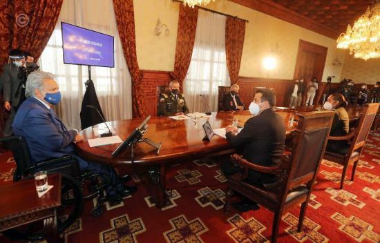 Ecuador activa comités de seguridad a escala nacional por ola de inseguridad