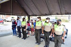 En Sucre niños usan un área del UPC para recibir sus clases virtuales