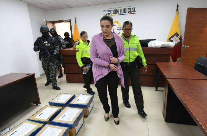 Tribunal declara inocente a María Sol Larrea y su esposo por el delito de lavado de activos