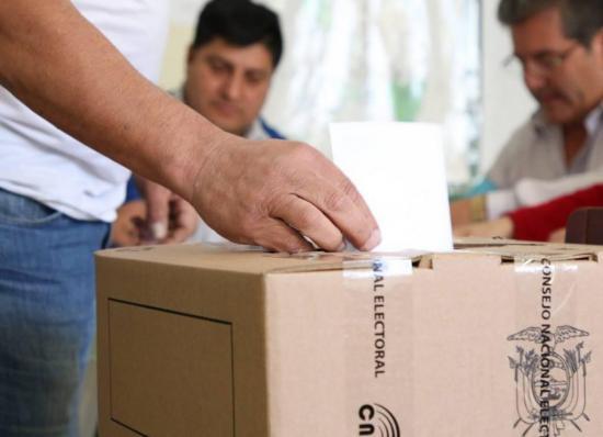 Se plantea horarios para votar de acuerdo al número de cédula