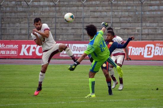 Olmedo y Técnico Universitario empatan 0-0