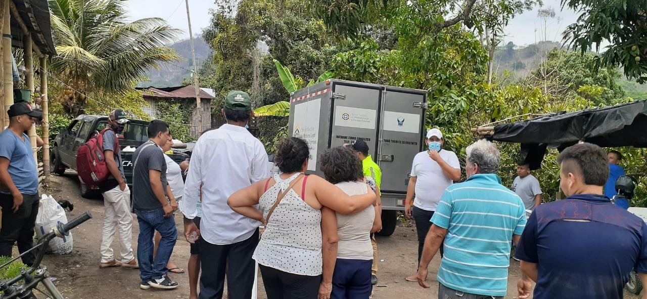 Hombre muere en el sitio Sarampión, cantón Bolívar, tras recibir varios impactos de bala