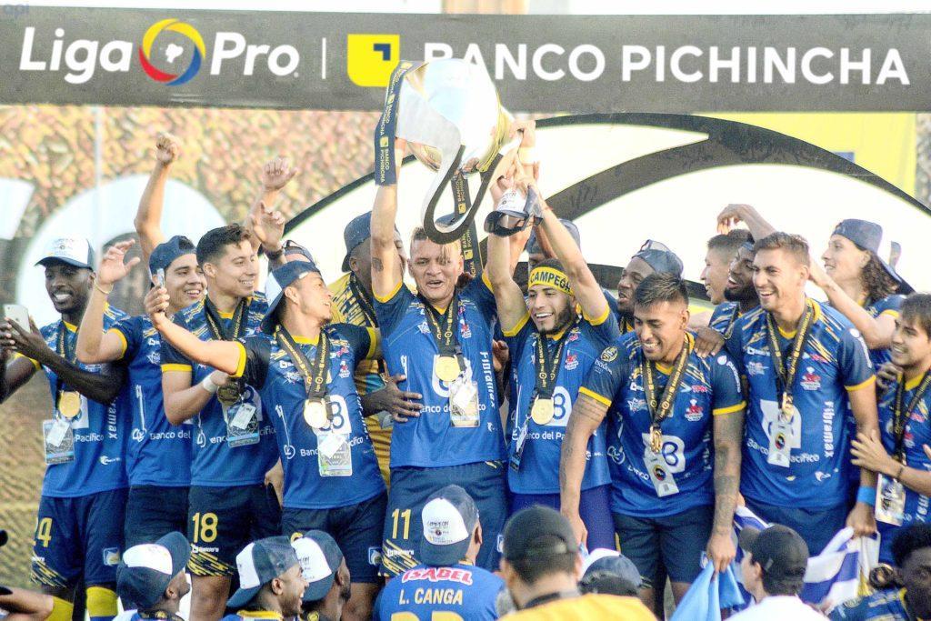 Hace un año, Delfín obtuvo el primer título nacional para la provincia de Manabí
