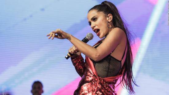Anitta celebra su participación en la fiesta de Nochevieja de Nueva York