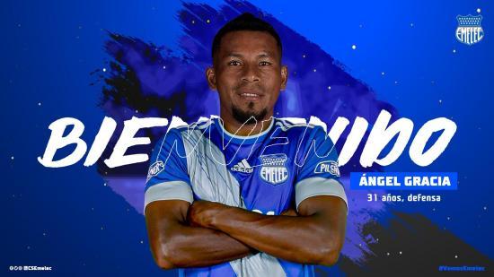 El manabita Ángel Gracia se integra al Club Sport Emelec