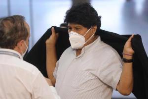 Evo Morales inicia tratamiento médico tras dar positivo a Covid-19