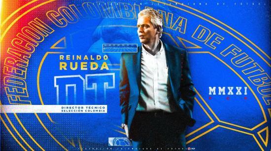 Reinaldo Rueda es el nuevo DT de la Selección de Colombia