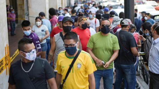 Ecuador sumó 864 casos positivos de covid-19 en las últimas 24 horas