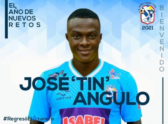 José Angulo es el nuevo refuerzo del Manta FC para la temporada 2021