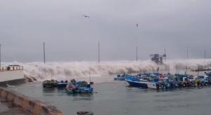 Oleaje en la zona costera del Ecuador se mantendrá hasta el 18 de enero