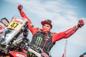 Kevin Benavides: ''Estoy muy feliz por ser el primer sudamericano en ganar el Dakar''