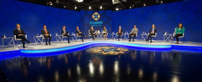 Fortalecer empleo y salud, prioridades de candidatos a Presidencia de Ecuador