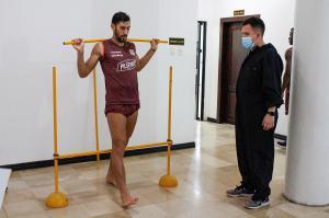 Jugadores de Barcelona son sometidos a pruebas físicas