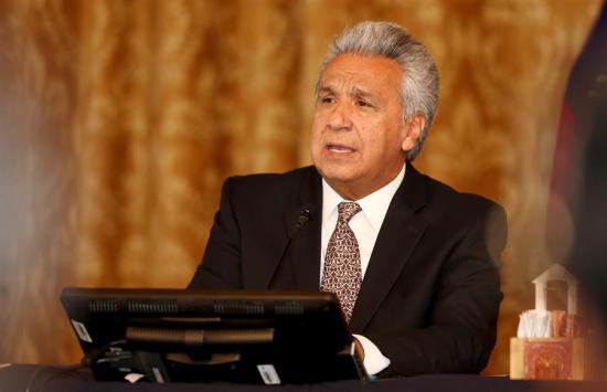 Lenín Moreno advierte del ''peligro de tener un narcogobierno de Venezuela''