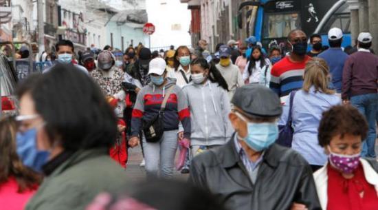 Ecuador suma 924 casos de coronavirus en un día y los contagios llegan a un total de 232.568