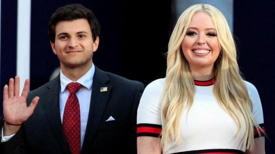 Hija de Trump anuncia su matrimonio en su último día en la Casa Blanca