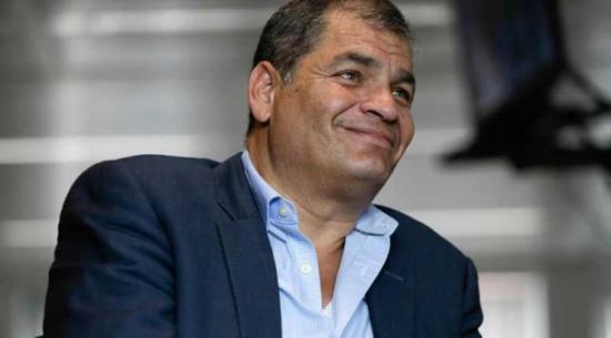 Rafael Correa: 'Tendré el rol que me asigne Andrés pero mi vida está en Bélgica'