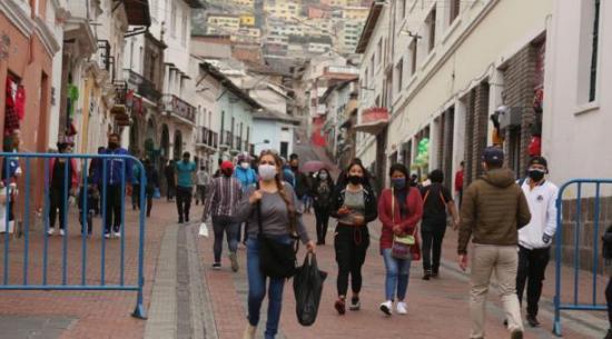 Ecuador suma 969 contagios y acumula 237.158 casos positivos de covid-19