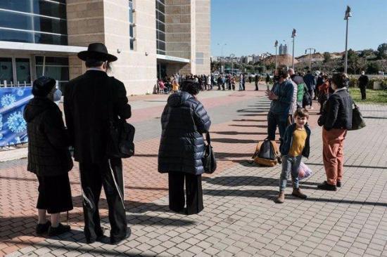 Israel comienza a vacunar a los nacidos antes de 2004