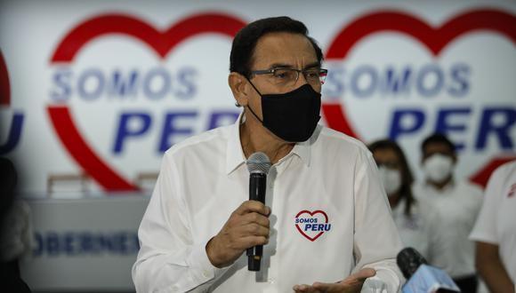 Vizcarra pide aplazar las elecciones en Perú por la segunda ola del coronavirus