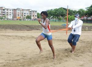 Liuba Zaldívar, la cubana que buscará en Tokio una medalla para Ecuador