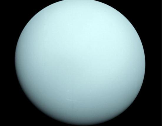 Se cumplen 35 años de la primera y única visita al planeta Urano