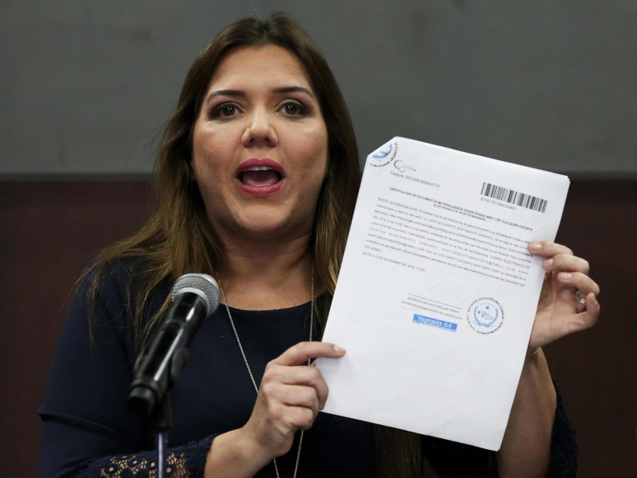 Endurecen la pena contra María Alejandra Vicuña, ahora condenada a dos años de prisión