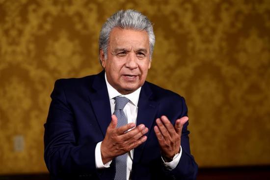 Moreno anuncia la entrega de bono de 500 dólares para 570 mil familias que perdieron el empleo