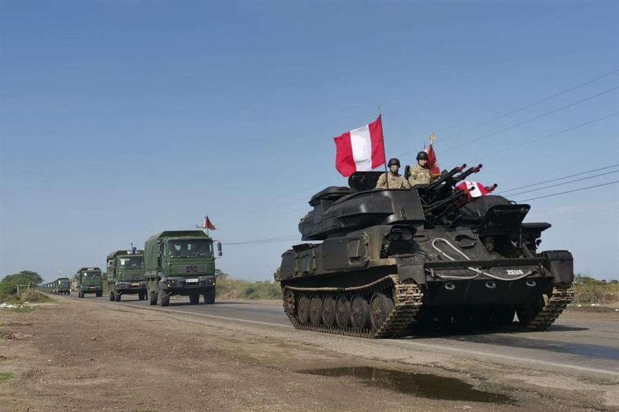 Perú despliega al Ejército en la frontera con Ecuador contra la inmigración ilegal