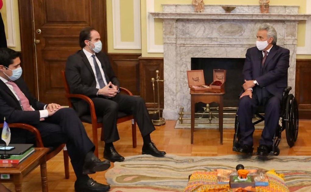 Ecuador le dice a EE.UU. que ''sabe que cuenta con un amigo''